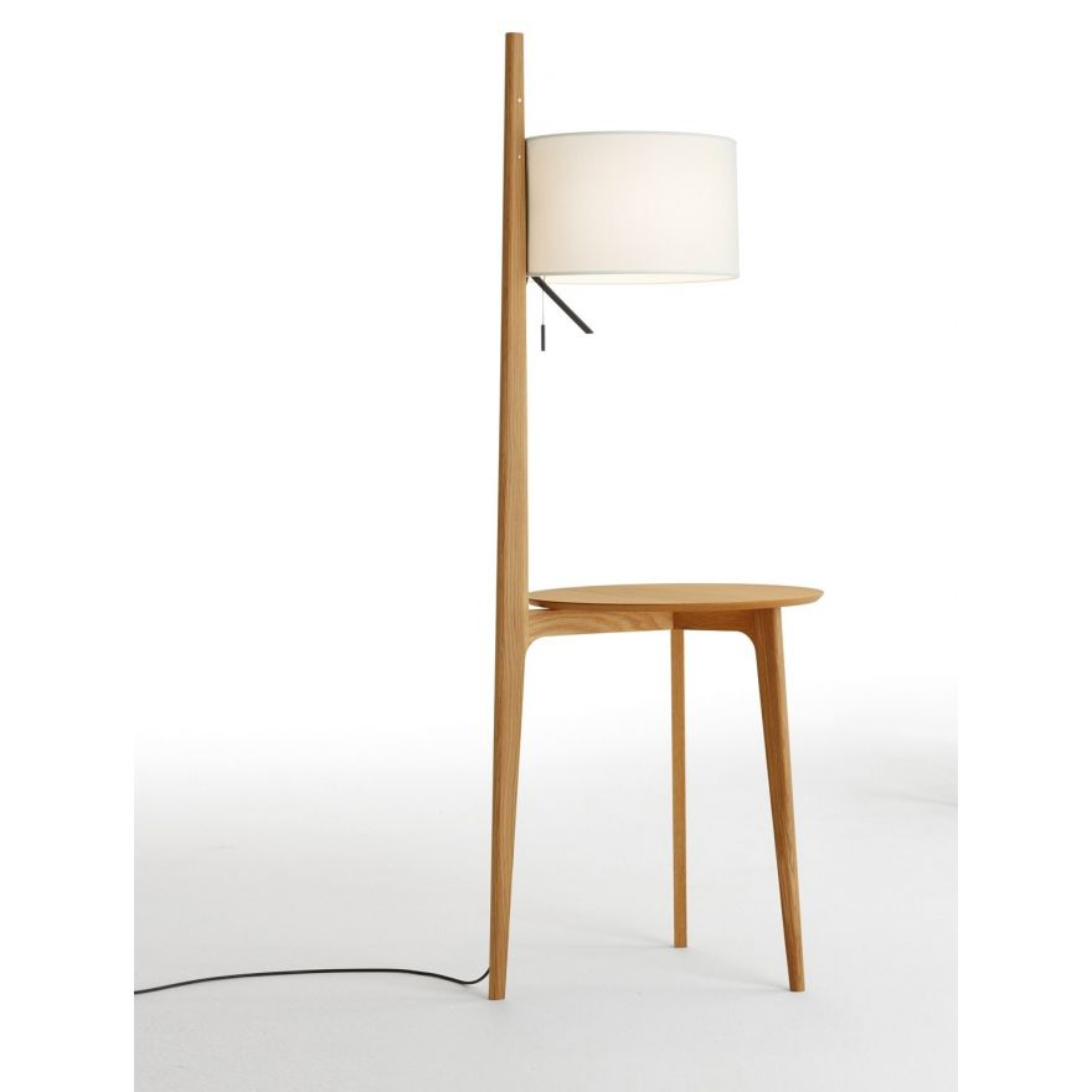 Stehleuchte Holz. Trendy Dreibein Lampe Holz Plus Luxus Modern Holz ...