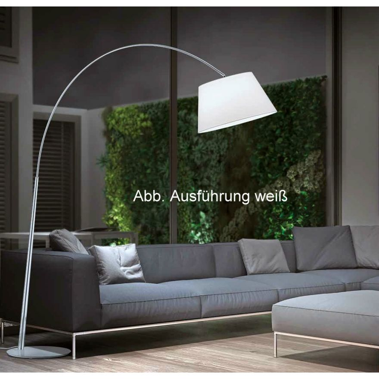 nala stehleuchte helestra anthrazit 17. Black Bedroom Furniture Sets. Home Design Ideas