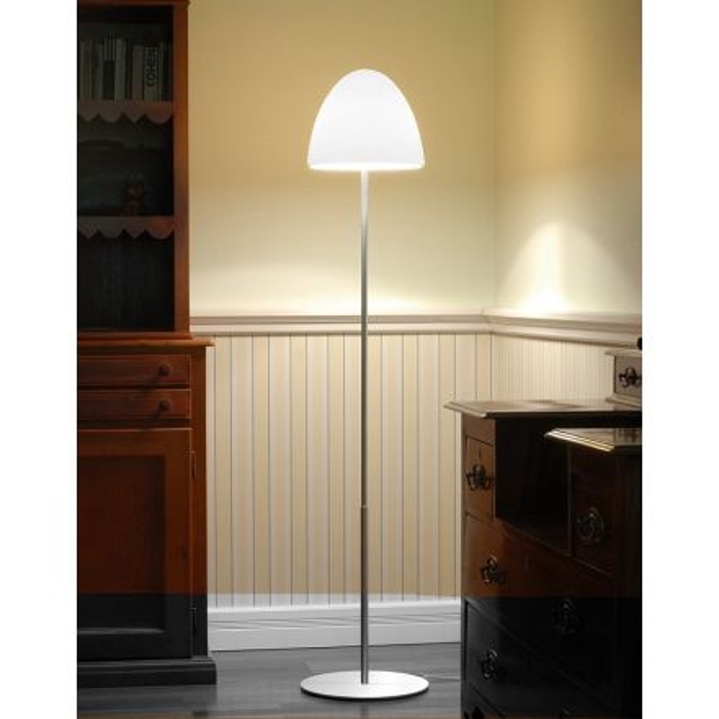 Casablanca Bell Stehlampe Weiss Mit Dimmer Be91 S236ad