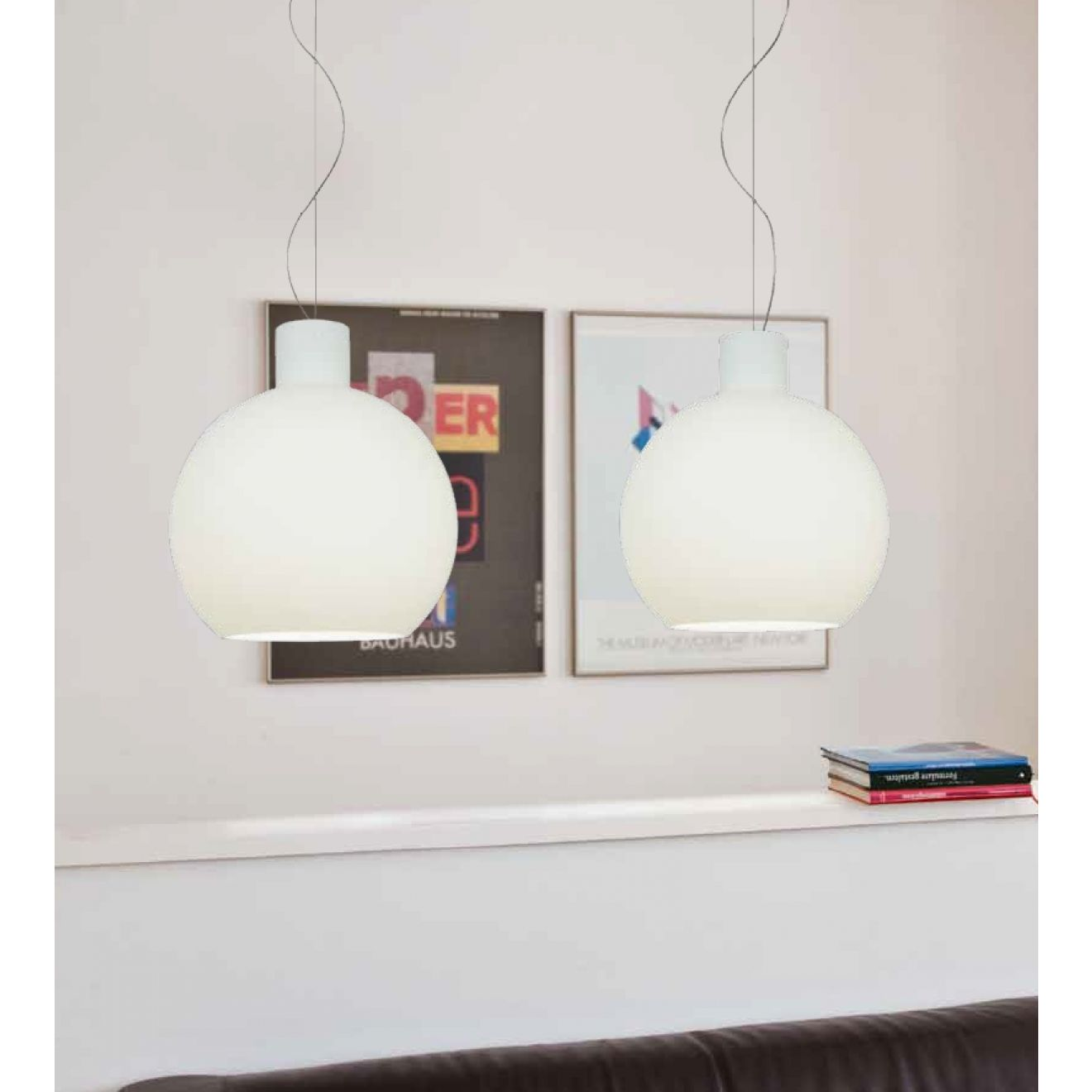 corpo b pendelleuchte 2 flammig casablanca. Black Bedroom Furniture Sets. Home Design Ideas